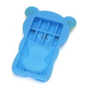 Bear silikonový obal na iPod Nano 7 - světlemodrý - 2