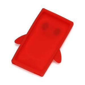Penguin silikonový obal pro iPod Nano 7 - červený - 2