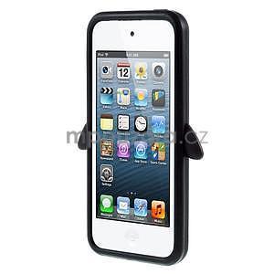 Penguin silikonový obal na iPod Touch 6 / iPod Touch 5 - černý - 2