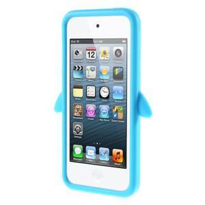 Penguin silikonový obal na iPod Touch 6 / iPod Touch 5 - světle modrý - 2