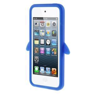 Penguin silikonový obal na iPod Touch 6 / iPod Touch 5 - tmavě modrý - 2