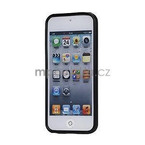 Matte gelový obal na iPod Touch 5 a iPod Touch - černý - 2