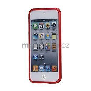 Matte gelový obal na iPod Touch 5 a iPod Touch 6 - červený - 2