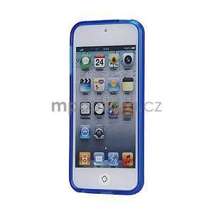 Matte gelový obal na iPod Touch 5 a iPod Touch 6 - tmavě modrý - 2