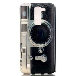 Emotive gelový obal na mobil LG K8 - retro foťák - 2