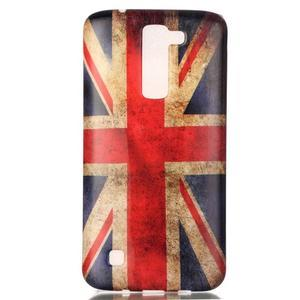 Emotive gelový obal na mobil LG K8 - UK vlajka - 2
