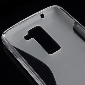 S-line gelový obal na LG K8 - transparentní - 2