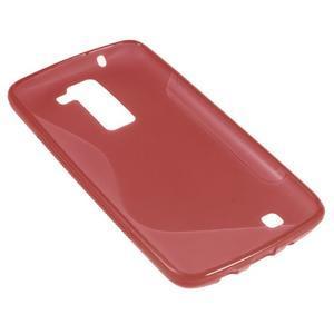 S-line gelový obal na LG K8 - červený - 2
