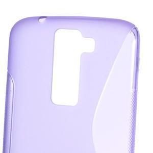 S-line gelový obal na LG K8 - fialový - 2