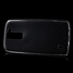 Ultratenký gelový obal na mobil LG K8 - transparentní - 2