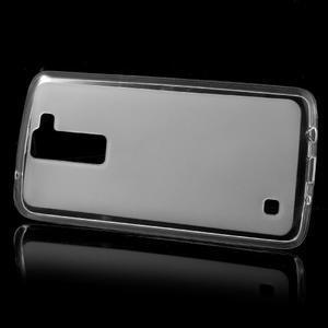 Matný gelový obal na mobil LG K8 - transparentní - 2