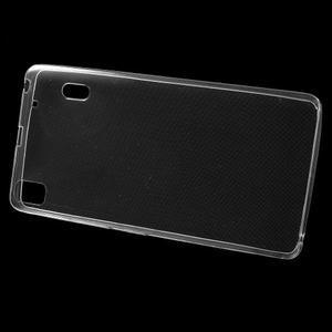 Ultra tenký slim obal na Lenovo A7000 / K3 Note - transparentní - 2