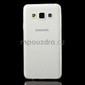 Slim obal na Samsung Galaxy A3 - transparentní - 2
