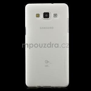 Broušený gelový obal Samsung Galaxy A5 - bílý - 2
