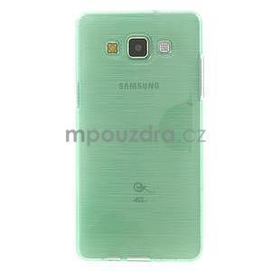 Broušený gelový obal Samsung Galaxy A5 - cyan - 2