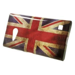 Gelové pouzdro na Nokia Lumia 730 a Lumia 735 - UK vlajka - 2