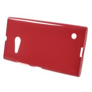 Gelový obal na Nokia Lumia 730 a Lumia 735 - červený - 2