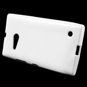 Gelový obal na Nokia Lumia 730 a Lumia 735 - bílý - 2