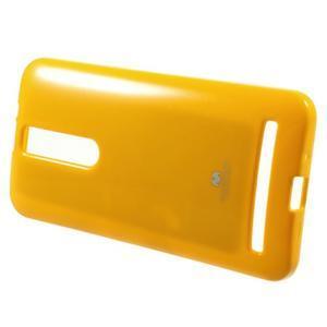 Gelový obal na Asus Zenfone 2 ZE551ML - žlutý - 2