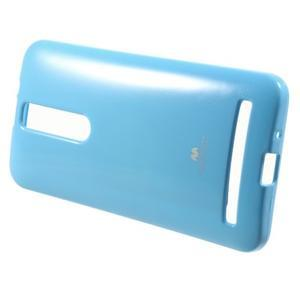 Gelový obal na Asus Zenfone 2 ZE551ML - světle modrý - 2