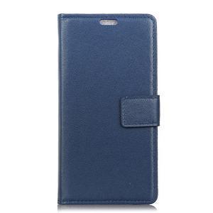 Wall peněženkové pouzdro na HTC Desire 12 - modré - 2