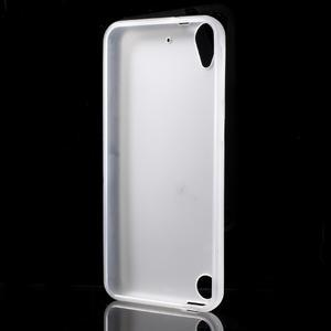 Matný gelový obal na mobil HTC Desire 530 a Desire 630 - transparentní - 2