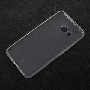 Ultratenký gélový obal na mobil HTC U11 - transparentný - 2