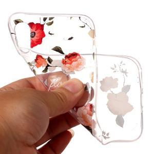 Bossi gelový obal na mobil iPhone X - růže - 2