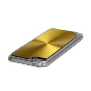 Zen metalický obal na iPod Touch 5 - zlatý - 2