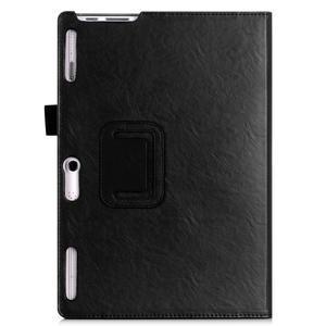 Safe PU kožené pouzdro na Lenovo Tab 3 10 Plus / Business - černé - 2