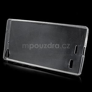 Gelový kryt na Lenovo Vibe X2 - transparentní - 2