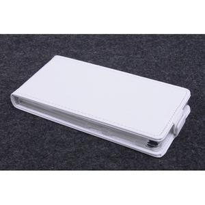 Flipové pouzdro na mobil Lenovo Vibe X2 - bílé - 2