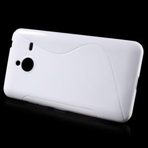 S-line gélový obal pre Microsoft Lumia 640 XL - biely - 2