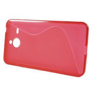 S-line gelový obal na Microsoft Lumia 640 XL - červený - 2