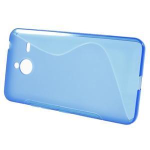 S-line gelový obal na Microsoft Lumia 640 XL - modrý - 2