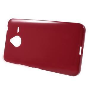 Červený gelový obal pro Microsoft Lumia 640 XL - 2
