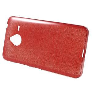 Gelový kryt s broušeným vzorem Microsoft Lumia 640 XL - červený - 2