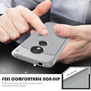 IVS odolný gelový obal na mobil Motorola Moto G6 Play - šedý - 2