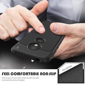 IVS odolný gelový obal na mobil Motorola Moto G6 Play - černý - 2