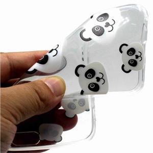 Emotive gelový obal na mobil Motorola Moto G6 Play - panda - 2