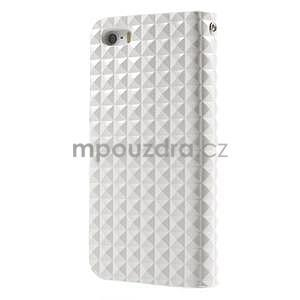 Cool Style pouzdro na iPhone 5 a iPhone 5s - bílé - 2