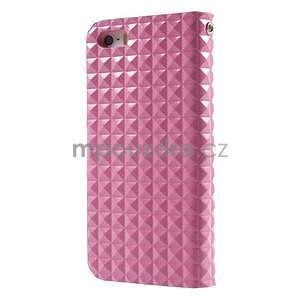 Cool Style pouzdro na iPhone 5 a iPhone 5s - růžové - 2