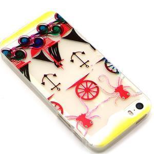Fun gelový obal na iPhone 5s a iPhone 5 - kotva - 2