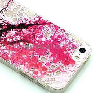 Fun gelový obal na iPhone 5s a iPhone 5 - třešeň - 2