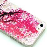 Fun gelový obal na iPhone 5s a iPhone 5 - třešeň - 2/4