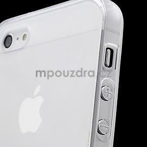 Transparentní gelový obal na iPhone 5/5s - 2