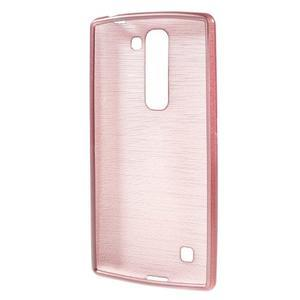 Brush gelový kryt na LG G4c H525N - růžový - 2