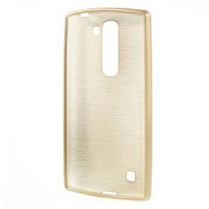 Brush gelový kryt na LG G4c H525N - champagne - 2