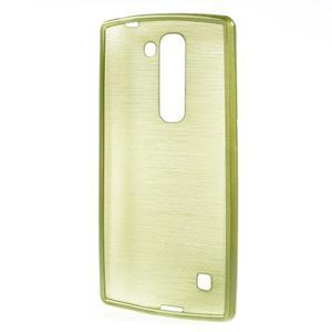 Brush gelový kryt na LG G4c H525N - zelený - 2