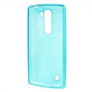 Brush gelový kryt na LG G4c H525N - modrý - 2